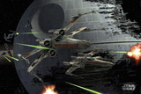 Star Wars-Death Star Kunstdrucke