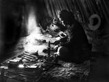 Navajo Silversmith, C1915 Photographic Print