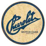 Chevy Historic Logo Plaque en métal