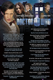 Doctor Who-Everything I Know Print