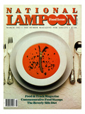 National Lampoon, March 1982 - Food Issue Posters