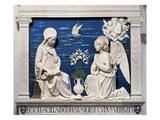Della Robbia: Annunciation Premium Giclee Print by Andrea Della Robbia