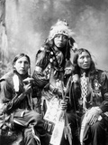 Young Sioux Men, 1899 Photographic Print