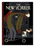 The New Yorker Cover - January 18, 2010 Premium Giclee Print by Frank Viva