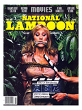 National Lampoon, October 1981 - Movies, Damsel in Distress Tied and Caught-Up in the Take 5 Prints