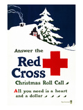 Red Cross Poster, C1915 Premium Giclee Print by Ray Greenleaf