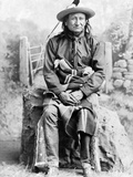Sioux Chief, C1891 Photographic Print by Charles Milton Bell