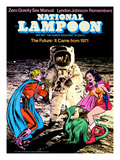 National Lampoon, May 1971 - The Future: It Came from 1971 Prints