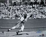 Ken Regan Signed Bob Gibson Fielding Photographie