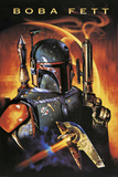 Star Wars-Boba Fett Kunstdrucke