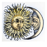 Sun And Moon, 1493 Prints