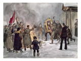 Russian Revolution, 1917 Giclee Print