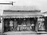 Texas: Luncheonette, 1939 Photographic Print by Russell Lee