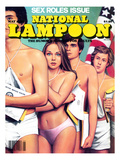 National Lampoon, May 1980 - Sex Roles Issue Art