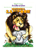 National Lampoon, March 1976 - In Like a Lion, on the Lamb Print