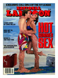 National Lampoon, July 1986 - Hot Summer Sex, So Hot They're Malting Art
