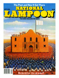 National Lampoon, September 1980 - The Past and How it Got There, Remember the Alamo Prints