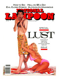 National Lampoon, June 1990 - Lust Posters