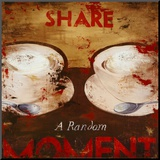 Share a Random Moment Mounted Print by Rodney White