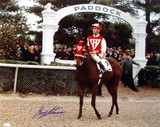 Gary Stevens Paddock 1 Autographed Photo (Hand Signed Collectable) Photo