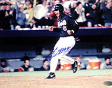 Melvin Mora Mets Crossing the Plate Autographed Photo (Hand Signed Collectable) Photo