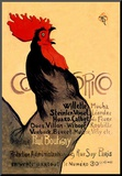Cocorico, c.1899 Mounted Print by Th&#233;ophile Alexandre Steinlen