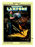 National Lampoon, October 1975 - Collector's Issue, Butterflies in Trash Art
