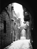 Jerusalem: Winter Photographic Print