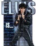 Elvis Is… Plakietka emaliowana