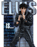 Elvis Is… Plechová cedule
