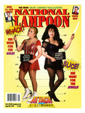 National Lampoon, September and October 1994 - Attack of the 5 ft 2 Women Poster