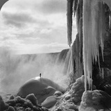 Niagara Falls: Frozen Photographic Print by R.Y. Young