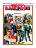 National Lampoon, July 1971 - Pornography: Threat or Menace Giclee Print