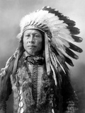 Sioux Brave, C1900 Photographic Print by John Alvin Anderson
