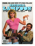 National Lampoon, October 1984 - Oh God! Now it's Miss Poland Print