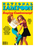 National Lampoon, February 1983 - Raging Controversy Posters