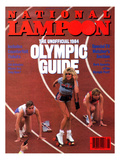 National Lampoon, August 1984 - The Unofficial 1984 Olympic Guide Poster