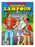 National Lampoon, October 1986 - Back to School Poster