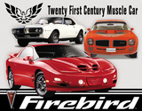 Pontiac Firebird Tribute Tin Sign