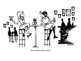 """You sounded so fat just then!"" - New Yorker Cartoon Premium Giclee Print by Corey Pandolph"