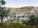 Mount Of Olives, C1900 Photographic Print