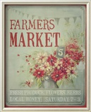 Market Flowers Posters by Mandy Lynne