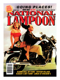 National Lampoon, August 1991 - Going Places Posters