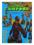 National Lampoon, October 1972 - The Fabulous Sixties and the Psychedelic Banana Posters