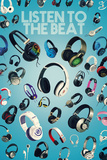 Listen to the Beat Print