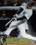 Mark Teixeira 2009 WS Game 6 Hit (MLB Auth) Photographie