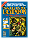 National Lampoon, May 1991 - Spend More Money Affiche