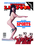 National Lampoon, May 1986 - Sports Illustrated Swimsuit Parody, The Diver Prints