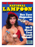 National Lampoon, April 1985 - The Best From Euope Posters