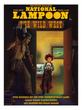 National Lampoon, June 1978 - The Wild West Art
